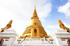 Gouden pagode in Thailand Stock Afbeelding