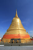 Gouden pagode in Wat Sraket, Bangkok, Thailand Royalty-vrije Stock Foto