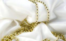 Gouden parels Stock Fotografie