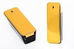 Gouden parfum Royalty-vrije Stock Foto's