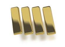 Gouden passement of baren Stock Fotografie