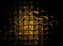 Gouden passementsamenvatting Stock Afbeelding