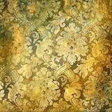 Gouden patronen stock illustratie