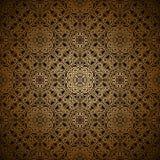 Gouden patroon Stock Afbeeldingen