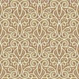Gouden patroon Stock Foto