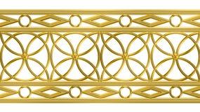 Gouden patroon Royalty-vrije Stock Fotografie