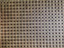 Gouden patroon in Alcazar DE Sevilla royalty-vrije stock fotografie