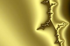 Gouden patroon II royalty-vrije illustratie