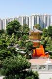 Gouden paviljoen in Hongkong Stock Afbeeldingen