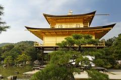 Gouden Paviljoen in Kyoto, Japan Royalty-vrije Stock Afbeeldingen