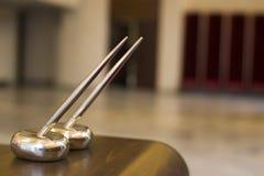 Gouden pennen stock foto