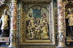 Gouden pictogram Royalty-vrije Stock Foto