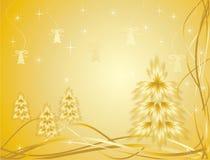 Gouden pijnboom Stock Fotografie