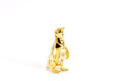 Gouden pinguïn Royalty-vrije Stock Foto's