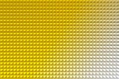 Gouden piramide abstracte achtergrond Stock Foto