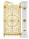 Gouden poort Royalty-vrije Stock Foto