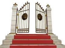 Gouden poort Stock Foto's