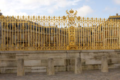 Gouden poort - Paleis van Versailles royalty-vrije stock fotografie