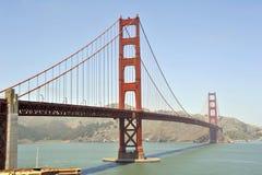 Gouden poortbrug Stock Afbeeldingen