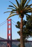 gouden poortbrug Royalty-vrije Stock Afbeelding