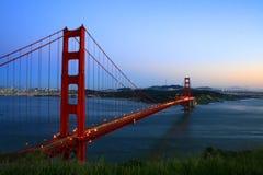 Gouden poortbrug Royalty-vrije Stock Foto