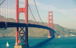 Gouden poortbrug in San Francisco Stock Fotografie