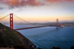Gouden poortbrug in San Francisco Royalty-vrije Stock Foto