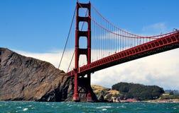 Gouden poortbrug in San Francisco, Californië Stock Foto
