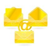 Gouden post Royalty-vrije Stock Foto