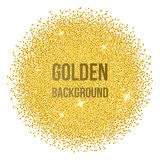 Gouden punten Stock Foto's