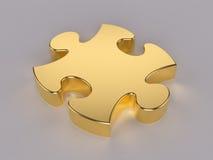 Gouden raadsel vector illustratie