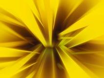 Gouden radiale abstracte achtergrond Royalty-vrije Stock Afbeeldingen