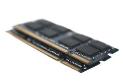 Gouden RAM Connectors royalty-vrije stock foto