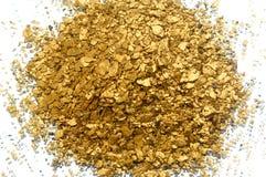 Gouden recycling royalty-vrije stock afbeeldingen