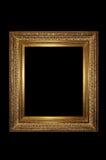 Gouden retro fotoframe Royalty-vrije Stock Foto
