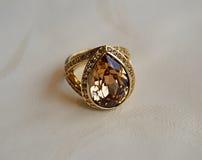 Gouden Ring Royalty-vrije Stock Afbeelding