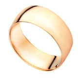 Gouden ring Stock Afbeelding
