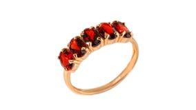 Gouden ring Royalty-vrije Stock Foto