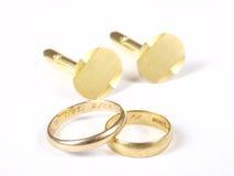 Gouden ringen Royalty-vrije Stock Foto