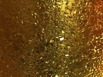 Gouden ritselenachtergrond royalty-vrije illustratie