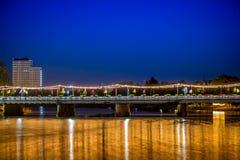 Gouden rivier Stock Fotografie