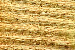 Gouden roestig metaal royalty-vrije stock afbeelding
