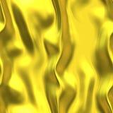 Gouden satijn Royalty-vrije Stock Fotografie