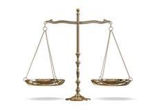 Gouden schaal vector illustratie