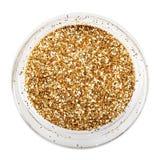 Gouden schitter fonkeling Stock Foto