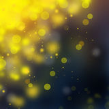 Gouden schitter Kerstmisachtergrond Vector Illustratie