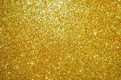 Gouden schitter Textuur kleurrijke abstracte achtergrond royalty-vrije stock afbeelding