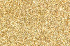 Gouden schitter textuurachtergrond Stock Fotografie
