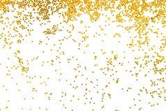 Gouden schitter vallend Royalty-vrije Stock Fotografie
