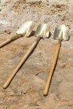 Gouden Schoppen Royalty-vrije Stock Afbeeldingen